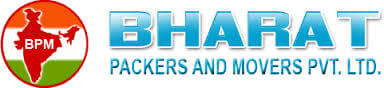 Logo for Bharat Packers and Movers