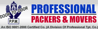 logo for Professional Packers and Movers
